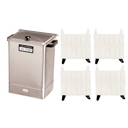 - Hydrocollator E-1 Stationary Heating Unit w/ 4 Standard HotPacs