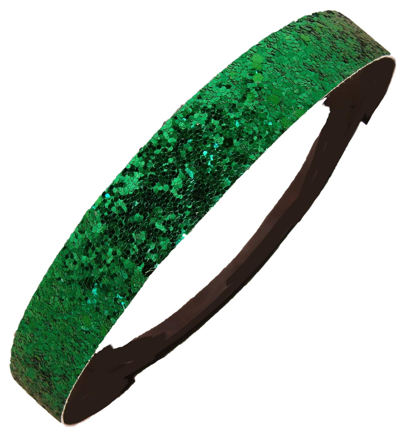 New Glittering Elastic Stretch Sport Hair Headband Bands 6 pieces