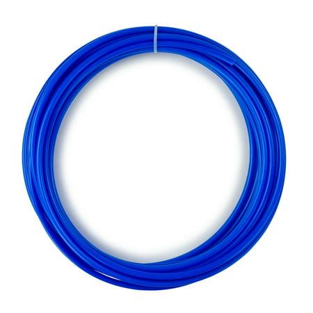 ISPRING T14B Reverse Osmosis RO Water Filter DI Aquarium 1/4-Inch Tube Tubing, Blue