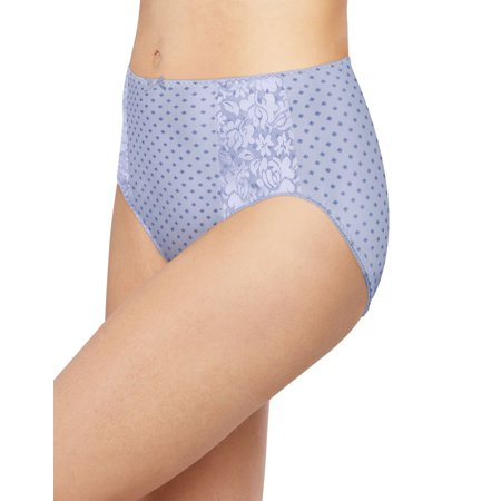 - Bali Womens Double Support Hi-Cut Panty, 3-Pack, 9