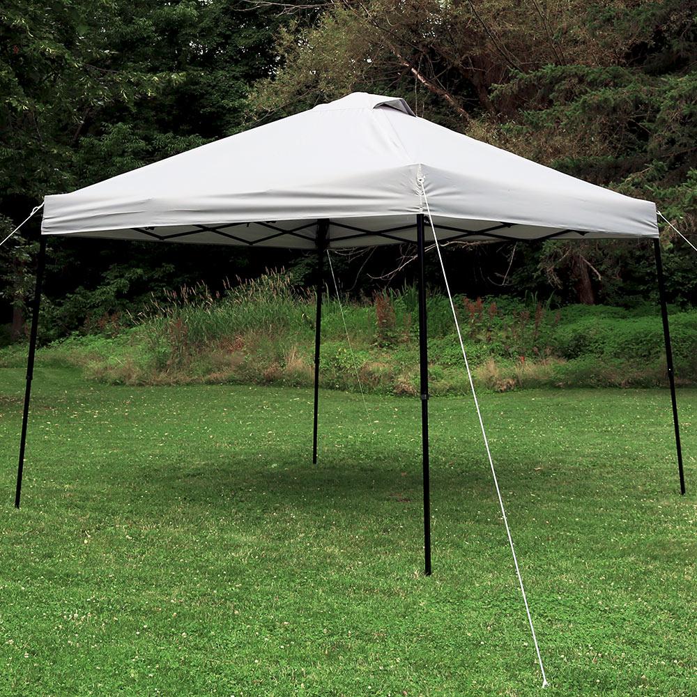 Sunnydaze Straight Leg Instant Canopy Event Tent w/Rolling Bag - Choose
