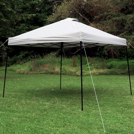 Sunnydaze Straight Leg Instant Canopy Event Tent w/Rolling Bag - Choose
