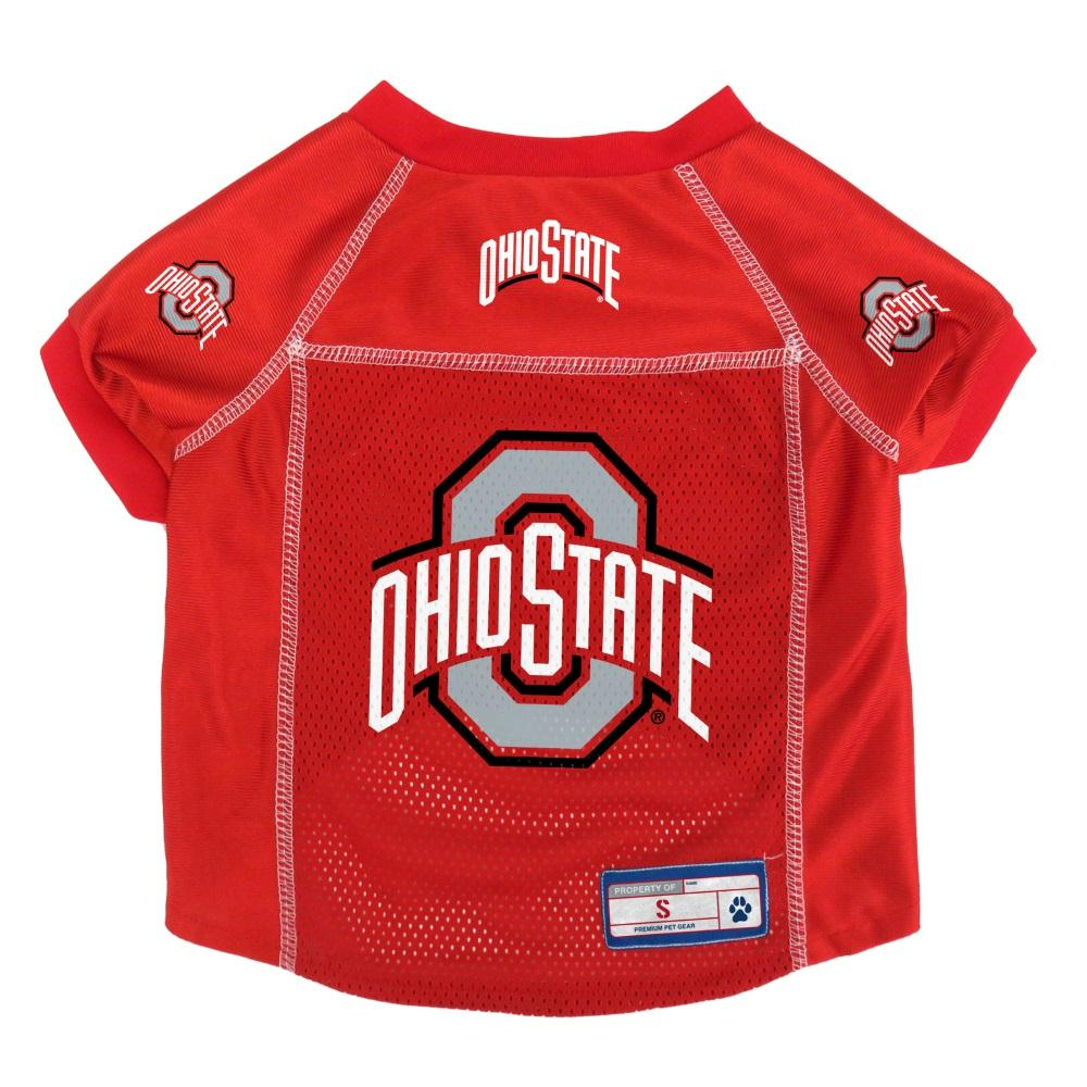 Ohio State Buckeyes Pet Mesh Jersey - Large
