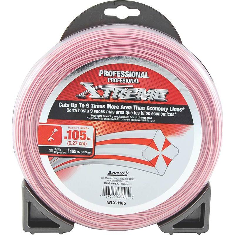 .105 Trimmer Line 11-Refills Arnold Corp Weed Trimmer Line WLX-1105 037049932030
