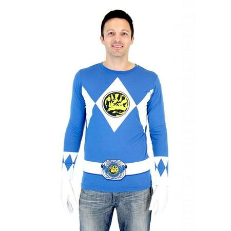 Power Rangers Ranger Long Sleeve T-Shirt & Gloves