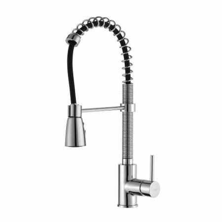 Kraus KPF-1612 Commercial Style Pre-Rinse Kitchen Faucet with Swiveling Spout an