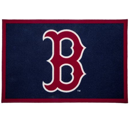 MLB Boston Red Sox Soft Area Rug with Non-Slip Backing by Delta