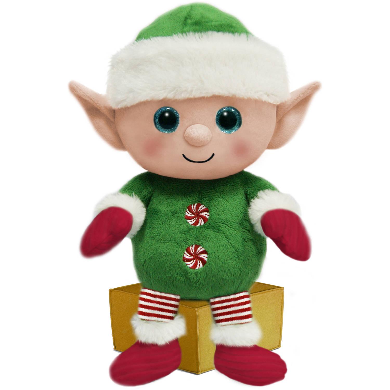 First And Main 7 Santa Buddies Plush Elf Walmart Com