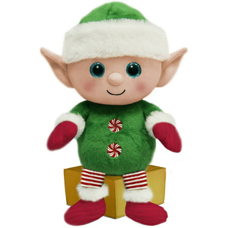 first and main 7 santa buddies plush elf