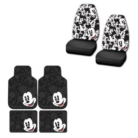 Mickey Mouse Music Mat (Mickey MouseMickey Mouse 2 Front Vinyl Floor Mats And 2 Rear Vinyl Floor Mats With 2 Seat)