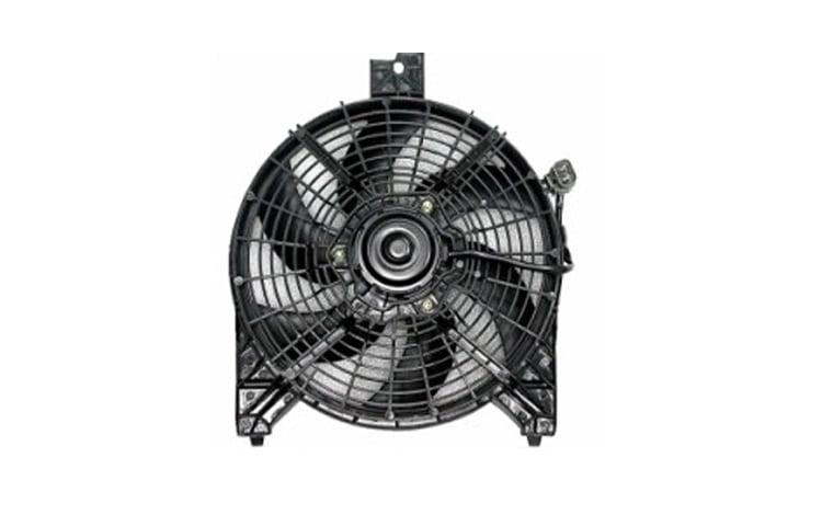 A//C Condenser Fan Assembly APDI 6029141 For Nissan Armada Titan 5.6L V8