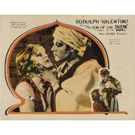 The Son Of The Sheik Poster Movie F Mini Promo
