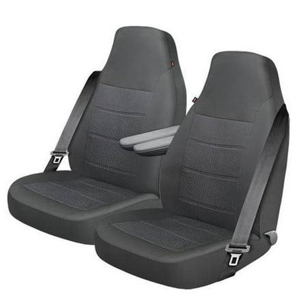 Dickies XL Truck Titanium Seat Cover Pairs Gray