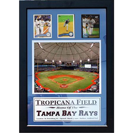 MLB Tampa Bay Rays 3-Card Deluxe Frame, 12x18 by