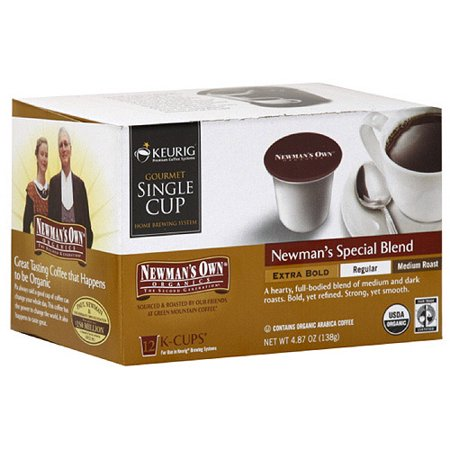 Newman's Own Special Blend Extra Bold K-Cups Coffee, 12ct (Pack of 6)