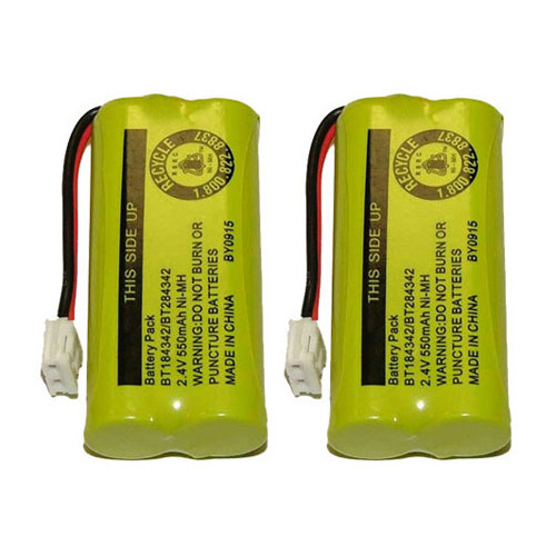 Replacement Battery for VTech 6010 / 3101 / DS6121 Phone Models (2 Pack)