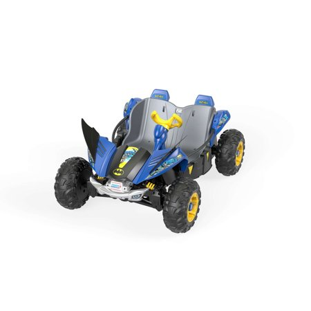 Dune Plum - Power Wheels Batman Dune Racer Battery-Powered Ride-On Vehicle