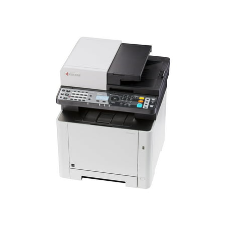 Kyocera ECOSYS M5521cdw - Multifunction printer - color - laser - Legal (8.5 in x 14 in)/A4 (8.25 in x 11.7 in) (original) - A4/Legal (media) - up to 21 ppm (copying) - up to 21 ppm (printing) - 300 sheets - 33.6 Kbps - USB 2.0, Gigabit LAN, Wi-Fi(n), USB host