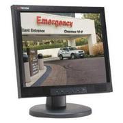 TATUNG TLM-1506T CCTV Monitor, Black, 120 to 240VAC, 15 in.