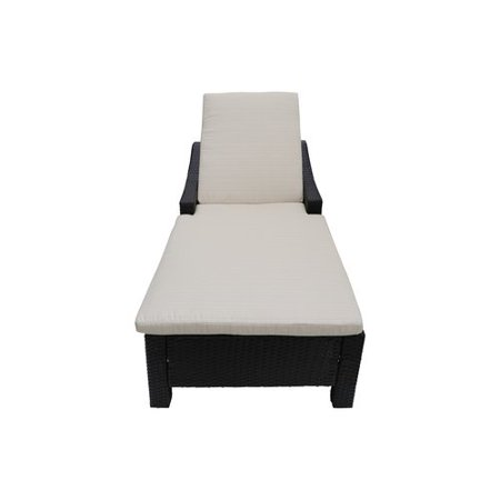 Sol 72 Outdoor Portola Reclining Chaise Lounge With Cushion