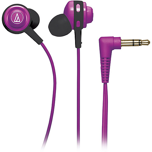 Audio Technica Core Bass In-Ear Headphones, ATH-COR150RD (Assorted Colors)