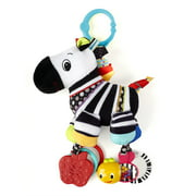 Bright Starts Sensory Plush Pals Zebra Take-Along Toy