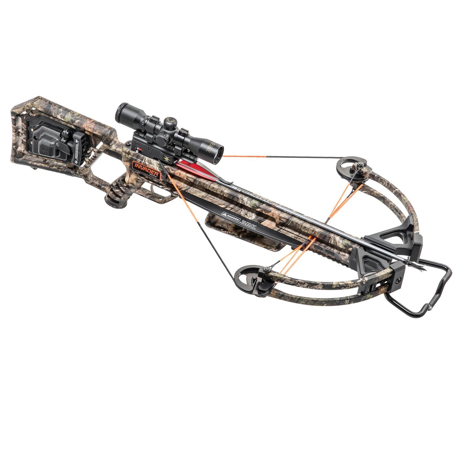 Wicked Ridge Invader X4 Crossbow Pkg ACUDRAW 50 by Wicked Ridge