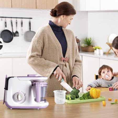 5 In 1 Baby Food Processor Feeding Blender Fixer Puree Heating Defrosting - image 5 of 10