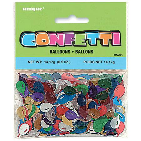 Foil Confetti (Balloon Shaped Foil Confetti, 0.5oz)