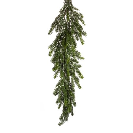 Pack of 2 Green Mini Needle Pine Artificial Christmas Garlands 4' ()