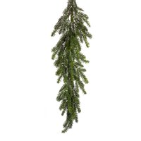 Pack of 2 Green Mini Needle Pine Artificial Christmas Garlands 4'