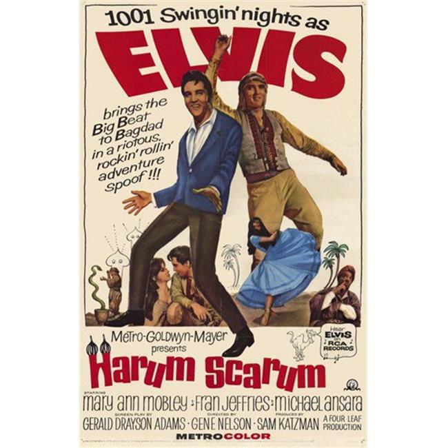 Posterazzi MOVCF5421 Harum Scarum Movie Poster - 27 x 40 in. - image 1 de 1