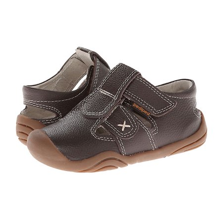 pediped Martin Sandal (Big Kid),Chocolate Brown,21 EU(5.5 E US Big Kid) (Doc Martin Sandels)