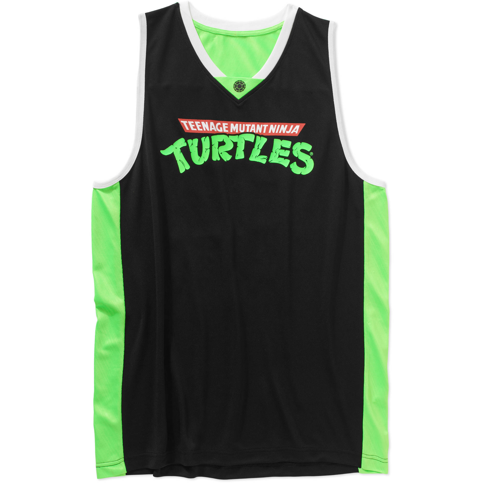 Teenage Mutant Ninja Turtles Men's Graphic Licensed Basketball Jersey