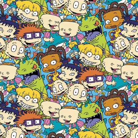 Nickelodeon Rugrats 43 44 100 Cotton 15yd D R Packed