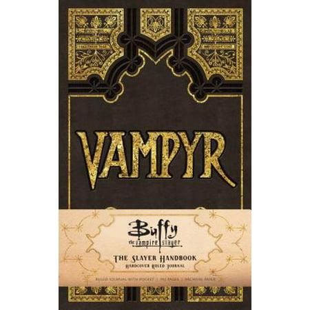 Buffy the Vampire Slayer Vampyr Hardcover Ruled Journal](Vampire Slayer Kit Halloween)