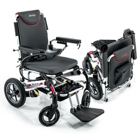 Jazzy Power Wheelchairs (Pride Mobility Jazzy Passport, Folding Travel Electric Powerchair - Lightweight Portable Folding Electric Wheelchair )