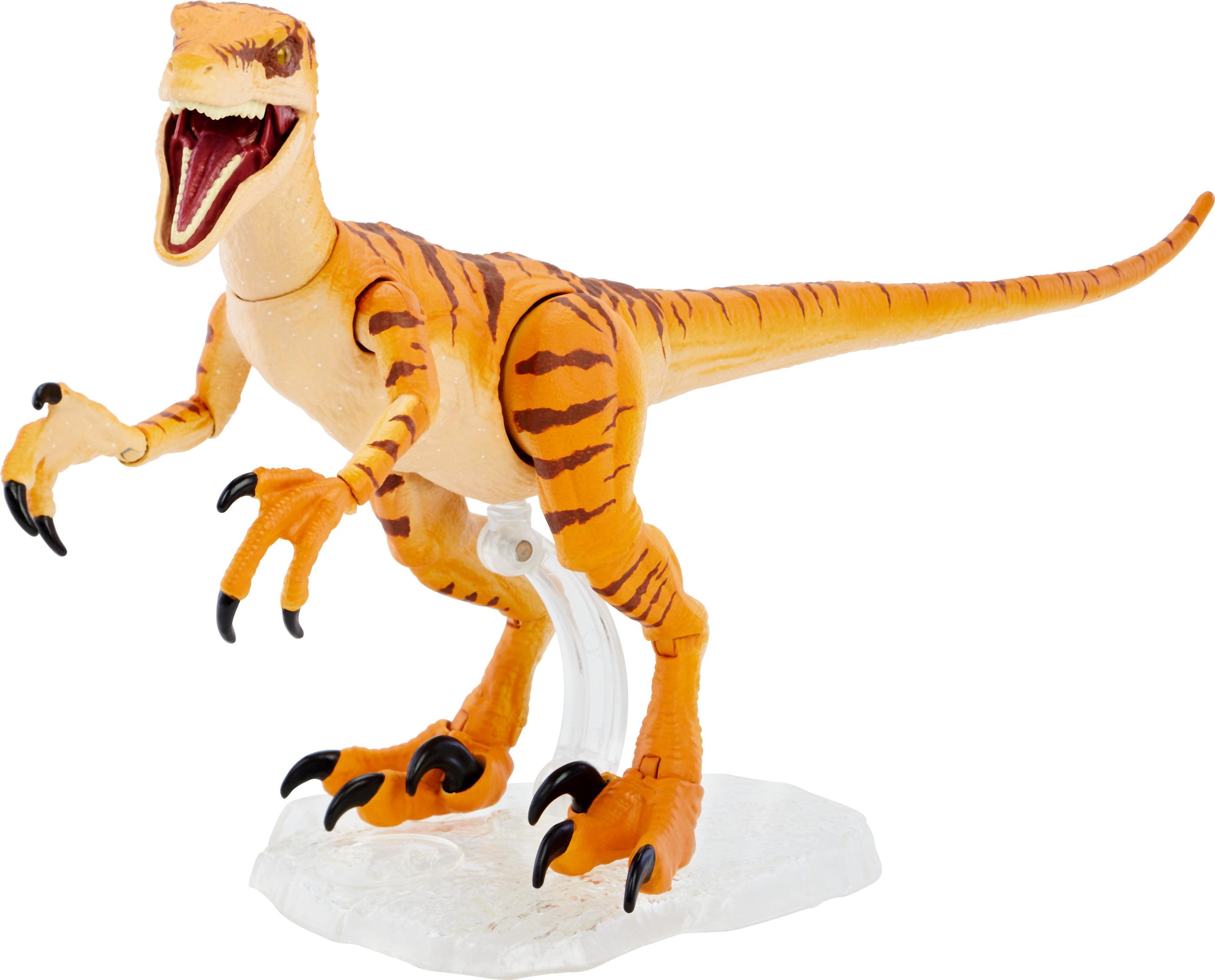 Jurassic World Amber Collection Tiger Velociraptor 6 inch Action Figure