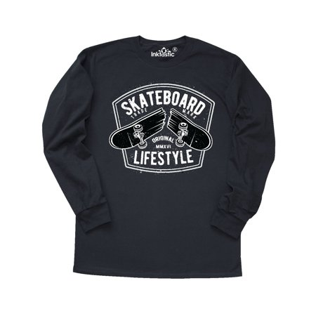 Krooked Skateboard T-shirts (Skateboard Lifestyle Long Sleeve T-Shirt)
