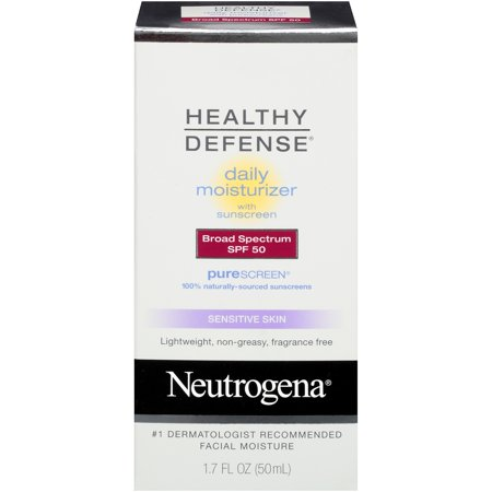 Neutrogena Healthy Defense Sensitive Moisturizer, SPF 50, 1.7 fl. oz