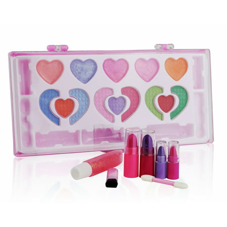 Halloween Makeup For Kids Girl (Pinkleaf Beauty Girls Washable Makeup Cosmetic kit, Special Designed For)