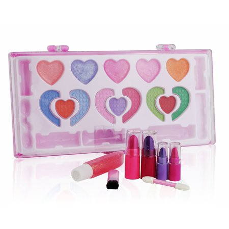 Pinkleaf Beauty Girls Washable Makeup Cosmetic kit, Special Designed For Kids - Halloween Makeup Zombie/dead Girl