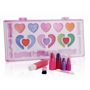 Pinkleaf Beauty Girls Washable Makeup Cosmetic kit, Special Designed For Kids