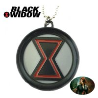 Marvel Comics Avengers Necklace Pendant - Black Widow - Movies TV Series Cosplay Jewelry by Superheroes