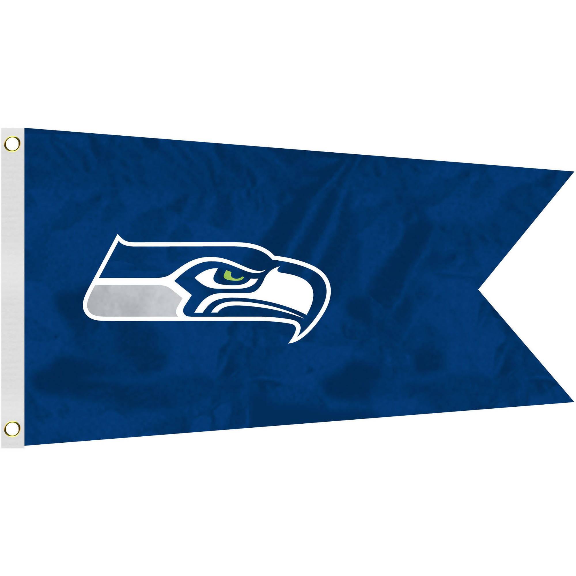 NFL Seattle Seahawks Boat Flag