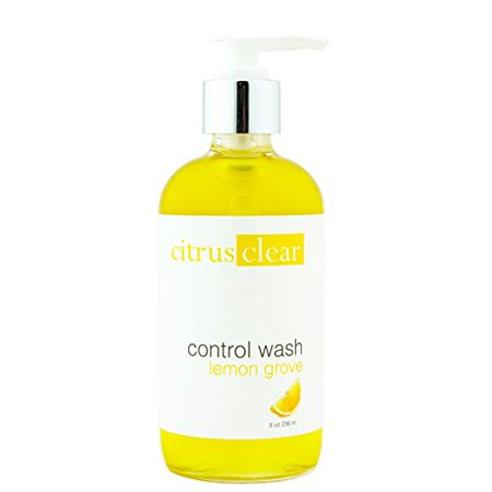 Control Acne Face Wash w/ Organic Citrus & Plant Based Ingredients - Wishing Plant