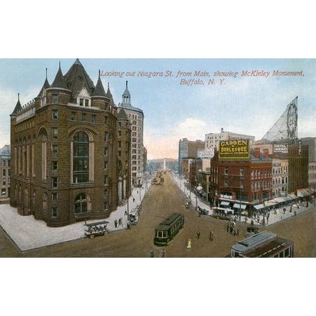 Niagara Street Buffalo New York State Usa Poster Print By Mary Evans  Pharcide Niagara Street Buffalo