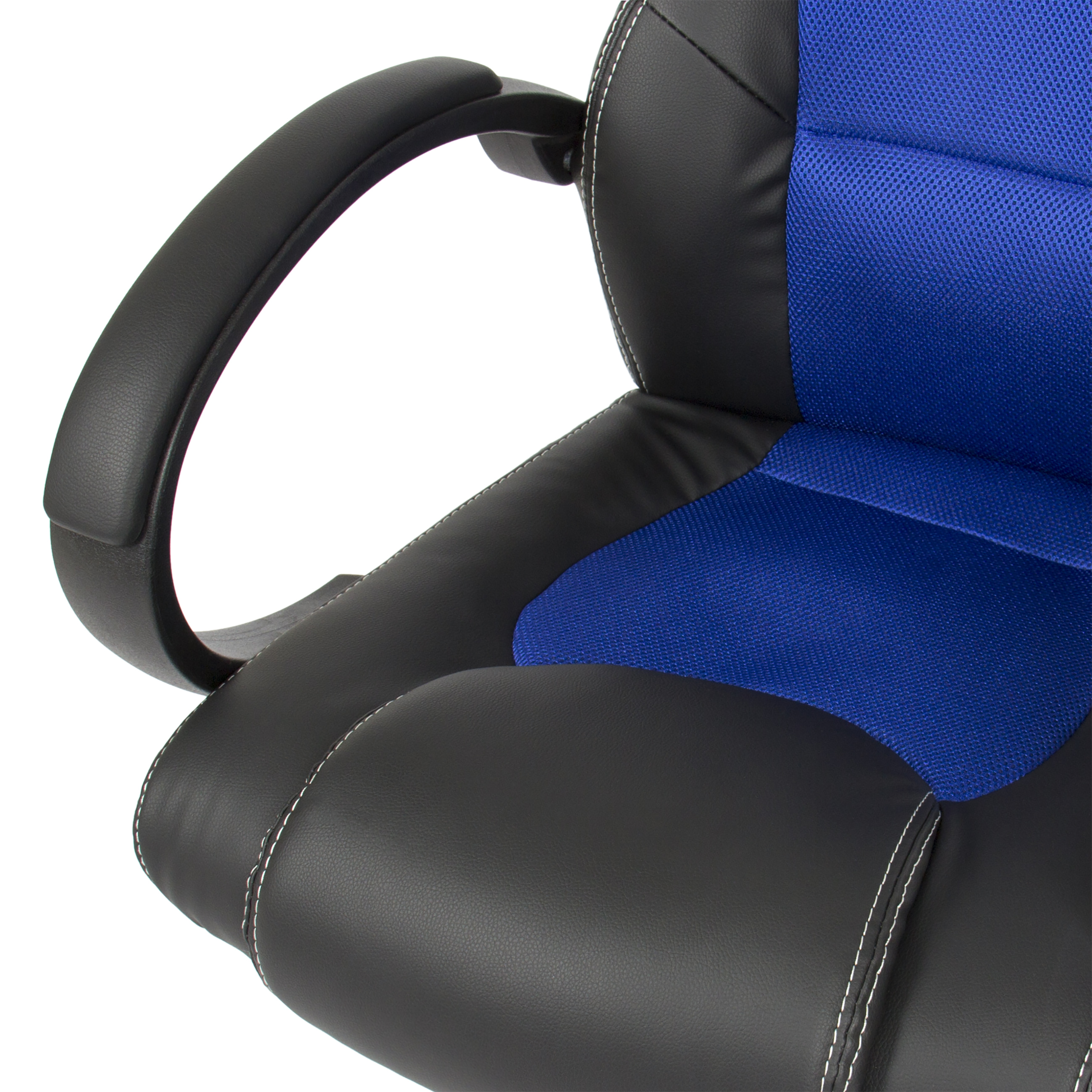executive racing gaming office chair pu leather swivel computer