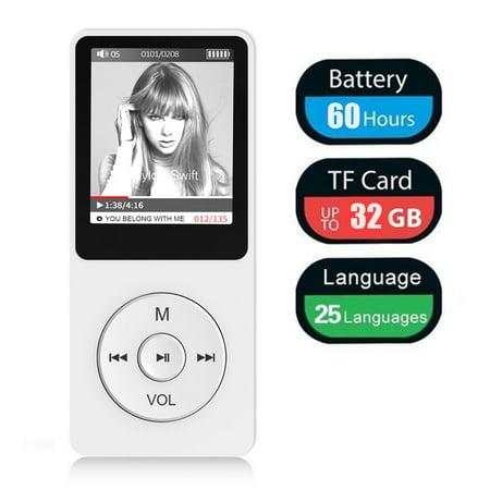 TSV Stylish MP3/MP4 Player, Support Photo Viewer, Mini USB Port 1.8 LCD, Digital Music Player, Media Player, MP3 Player, MP4 Player