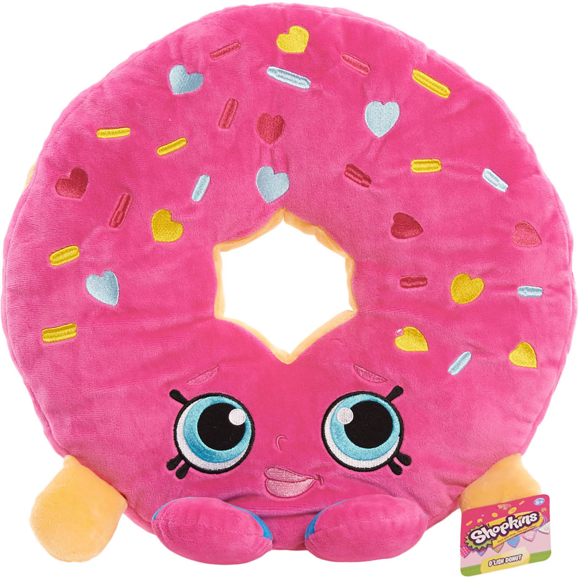 Shopkins Cuddle Pillow, D'lish Donut